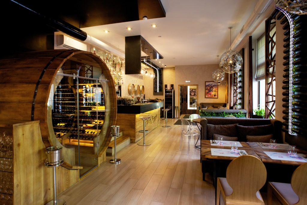 Разработка проекта дизайна интерьера ресторана Piano Piano