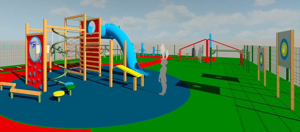 Проектирование детской спортивной площадки