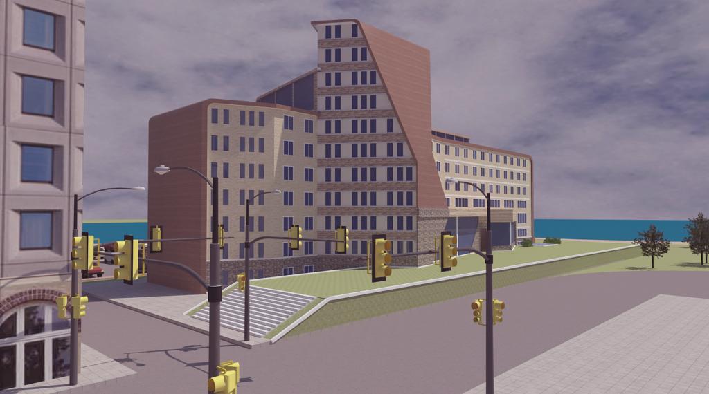 Проектирование здания пансионата