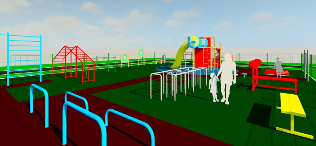 Разработка проекта строительства детской площадки