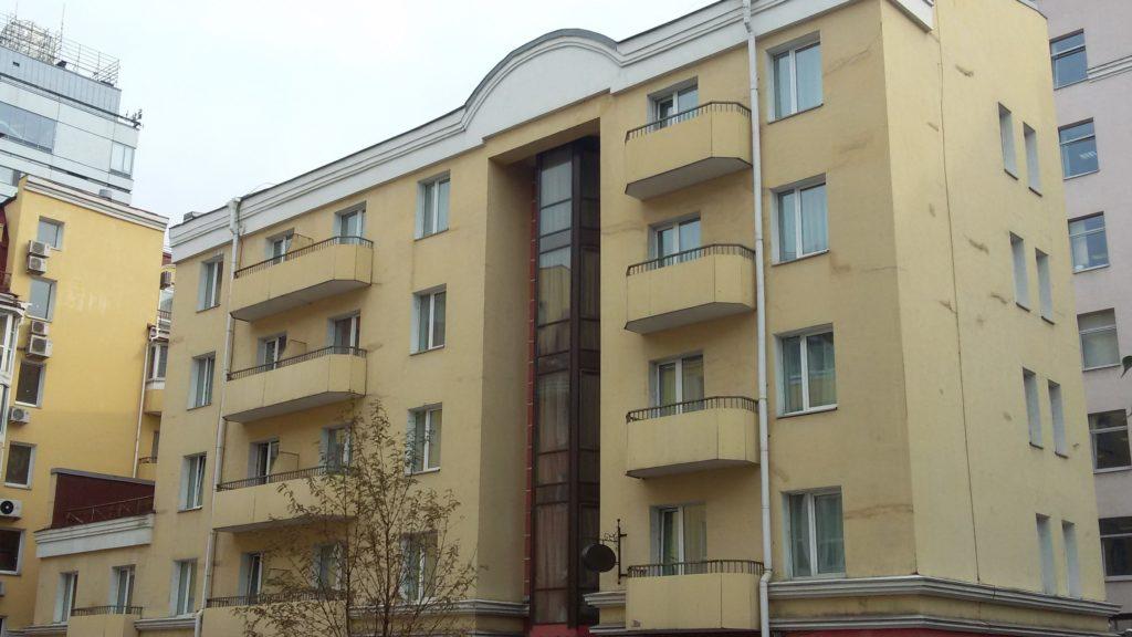 Согласование проекта реконструкции здания гостиницы, Рижский проспект